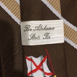 Accessories - State of Alabama Tie